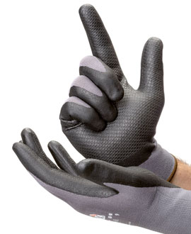 Dot palm gloves