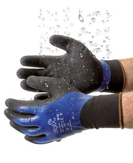 Waterproof gloves
