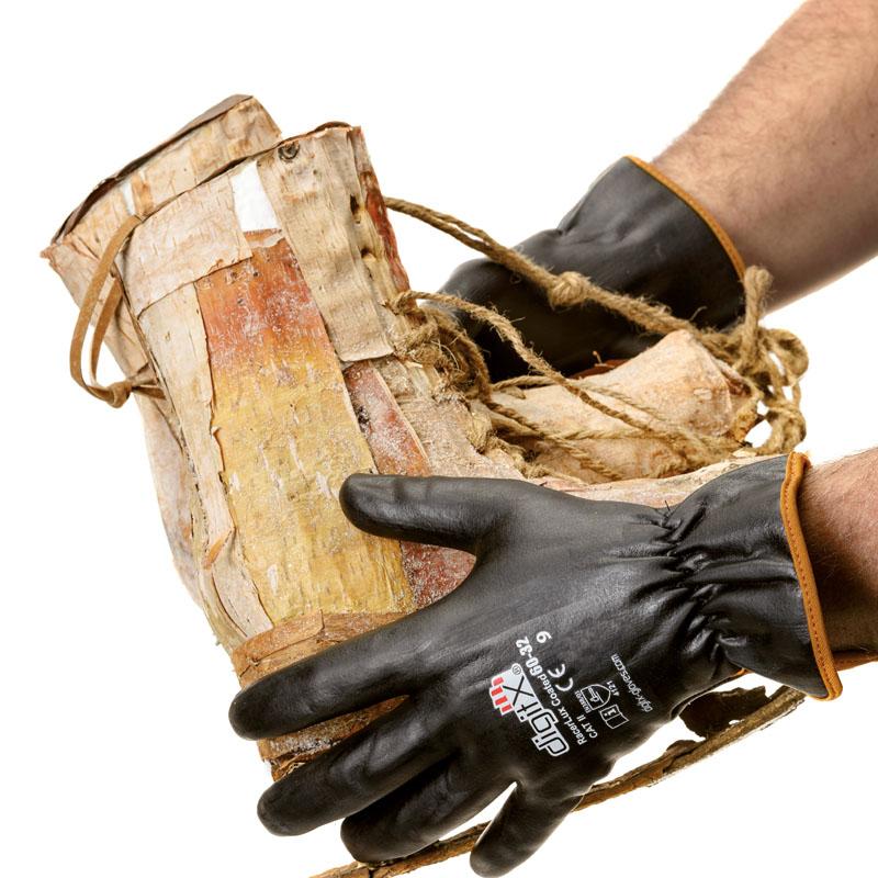 Gardening gloves for sensitive skin